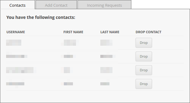 enMailing Contacts