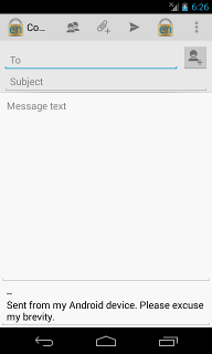 Android Compose Message