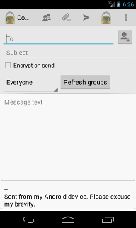 Android Compose enMailing